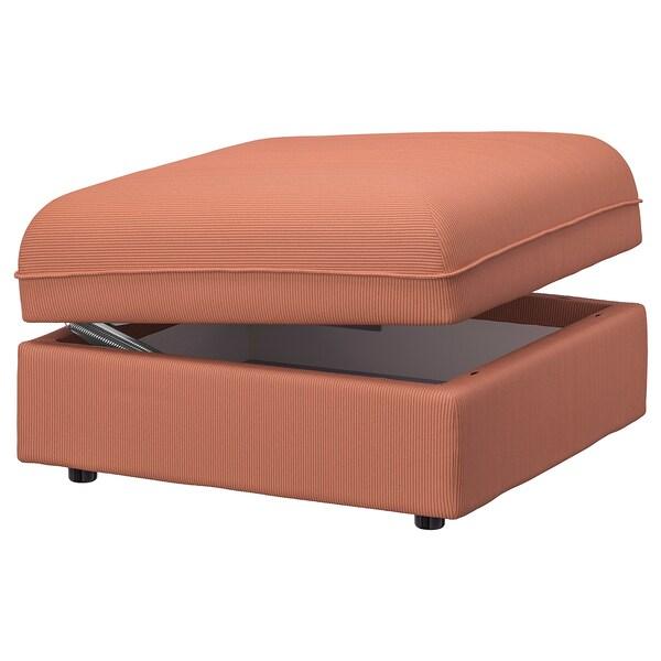 VALLENTUNA Seat module with storage, Kelinge rust