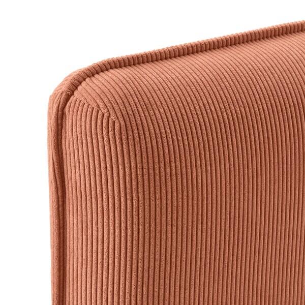 VALLENTUNA Sofa-bed module with backrests, Kelinge rust