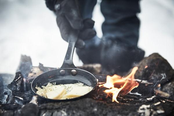 VARDAGEN Frying pan, carbon steel, 13 cm
