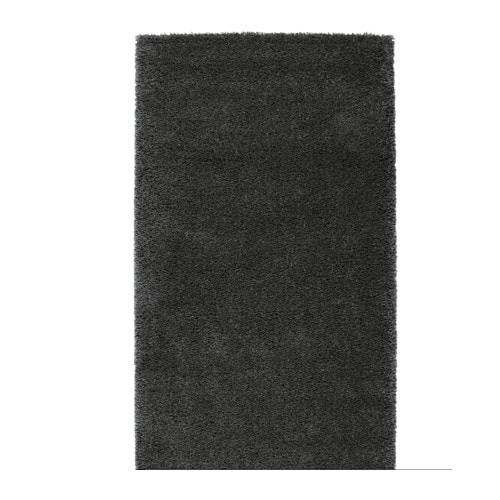 Teppich dunkelgrau  ÅDUM Teppich Langflor - IKEA