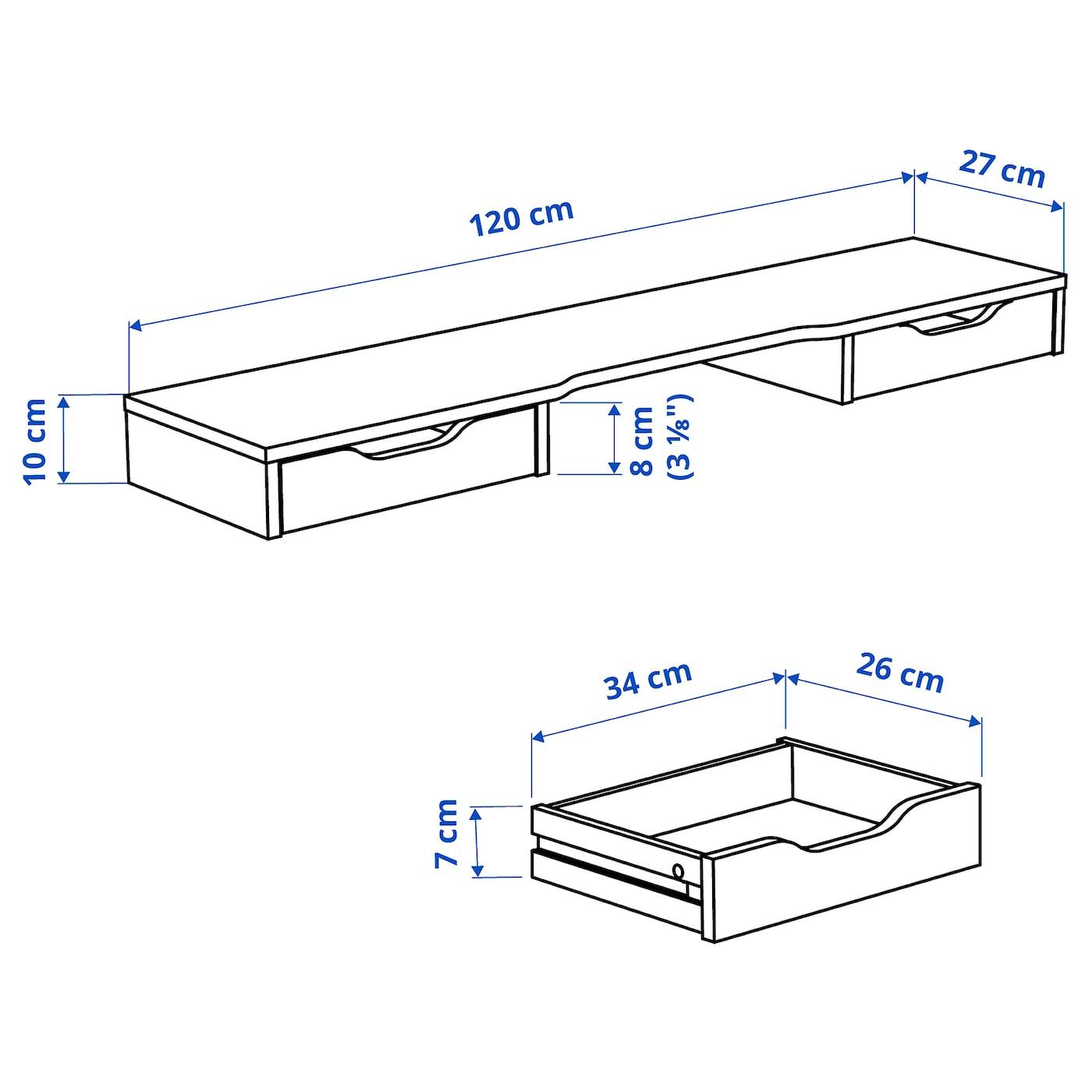 ALEX Aufsatz weiß IKEA Deutschland