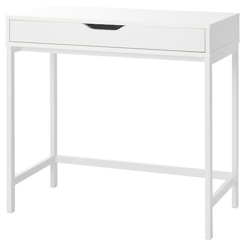 ALEX Schreibtisch weiß 79 cm 40 cm 76 cm 62 cm
