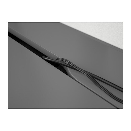 Schultisch maße  ALEX Schreibtisch - grau - IKEA
