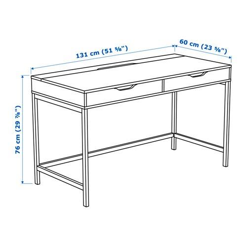 alex schreibtisch - grau - ikea, Schlafzimmer design