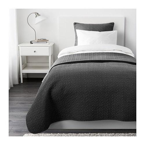 alina tagesdecke kissenbezug 180x280 65x65 cm ikea. Black Bedroom Furniture Sets. Home Design Ideas