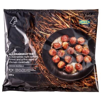 ALLEMANSRÄTTEN Geflügelbällchen gefr. 1000 g