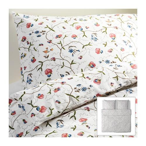 ikea bettw sche bettw scheset 3tlg bett garnitur landhaus alvine 240x220 cm neu ebay. Black Bedroom Furniture Sets. Home Design Ideas