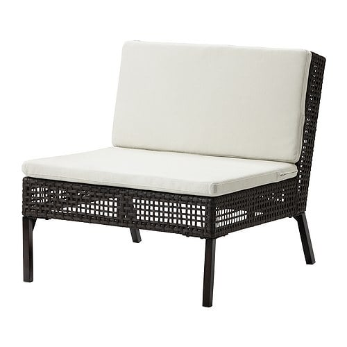 ikea ammer sitzelement kissen rattansofa sitzgarnitur garten sofa m bel lounge ebay. Black Bedroom Furniture Sets. Home Design Ideas