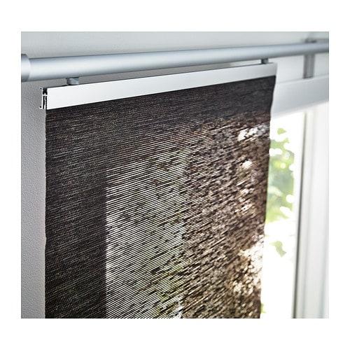 ikea anno sanela braun 60cm schiebegardine gardine fl chenvorhang vorhang neu ebay. Black Bedroom Furniture Sets. Home Design Ideas