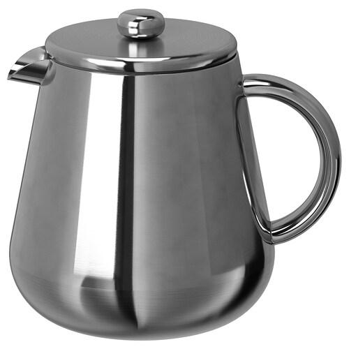 ANRIK Kaffee-/Teezubereiter Edelstahl 18.5 cm 1.2 l