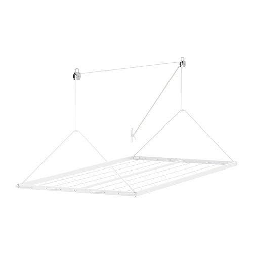Wäscheständer Decke: IKEA ANTONIUS Hänge-Wäschetrockner WEIß 9m Für Decke/zum