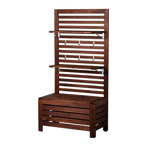 pplar bank paneel mit bord au en ikea. Black Bedroom Furniture Sets. Home Design Ideas