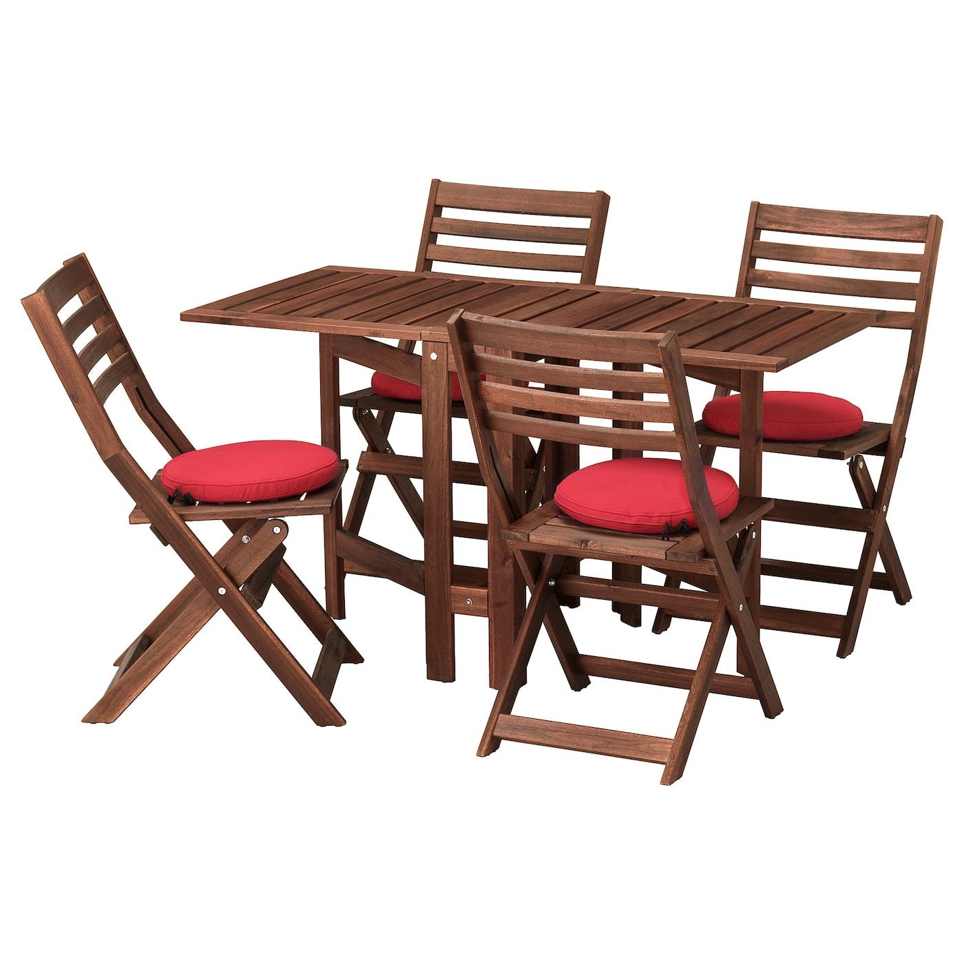 Ikea gartenmöbel äpplarö  rotbraun Gartenmöbel-Set online kaufen | Möbel-Suchmaschine ...