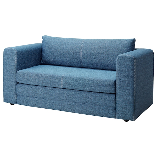 2er-Bettsofa ASKEBY blau