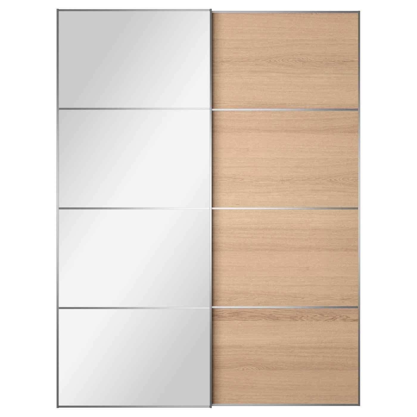 AULI / ILSENG, Schiebetürpaar, Spiegelglas, 599.302.89