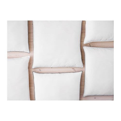 ikea axag kopfkissen 80x80 cm fest kissen schlafzimmer ruhekissen inlett neu ovp ebay. Black Bedroom Furniture Sets. Home Design Ideas