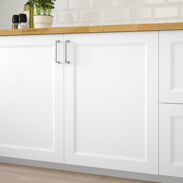 AXSTAD Tür matt weiß 59.7 cm 79.7 cm 2.0 cm
