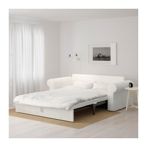 Backabro 3er Bettsofa Tygelsjo Beige Ikea