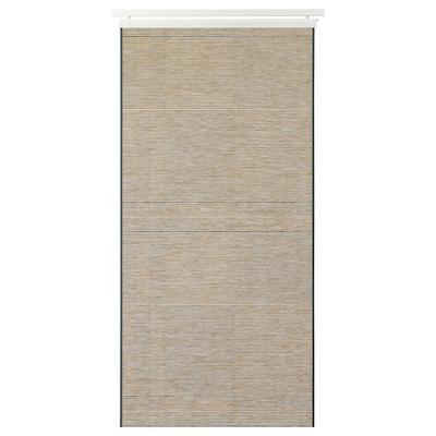 BANTISTEL Schiebegardine, beige/schwarz, 60x300 cm