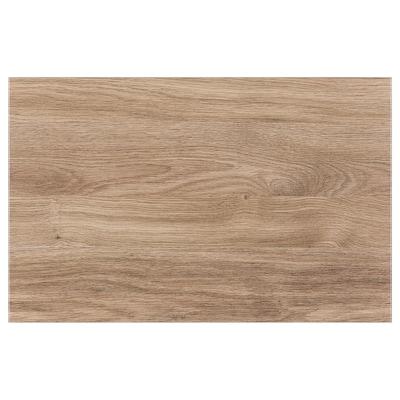 BASTENA Tür/Schubladenfront, mittelbraun Eichenachbildung, 60x38 cm