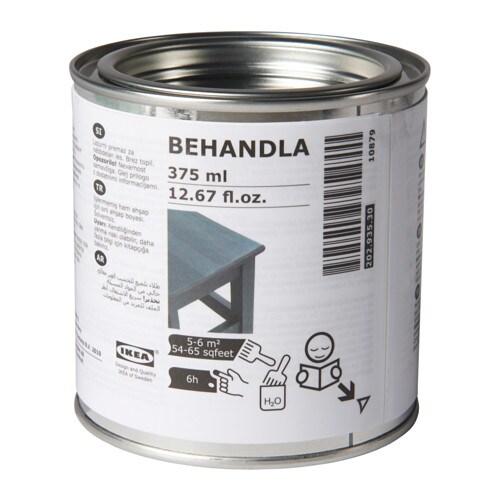 BEHANDLA Lasur - grau, - IKEA