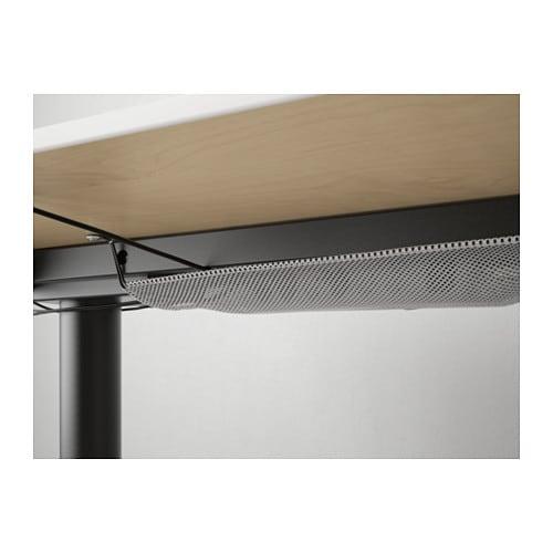 Schreibtisch ikea  BEKANT Schreibtisch sitz/steh - weiß/schwarz - IKEA
