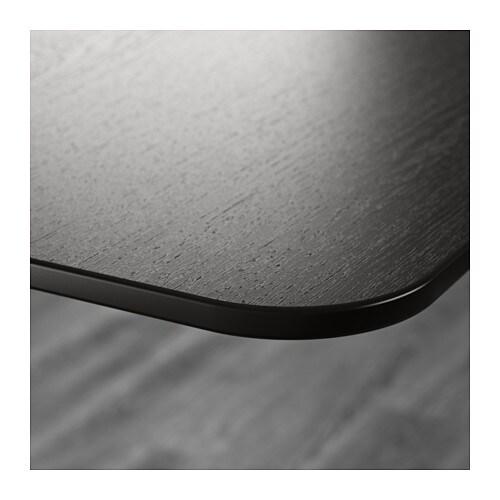 Eckschreibtisch schwarz  BEKANT Schreibtisch sitz/steh - weiß/schwarz - IKEA