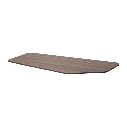 bekant tischplatte 5 eckig grau ikea. Black Bedroom Furniture Sets. Home Design Ideas