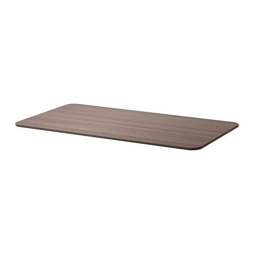 Tischplatte ikea  BEKANT Tischplatte - grau - IKEA