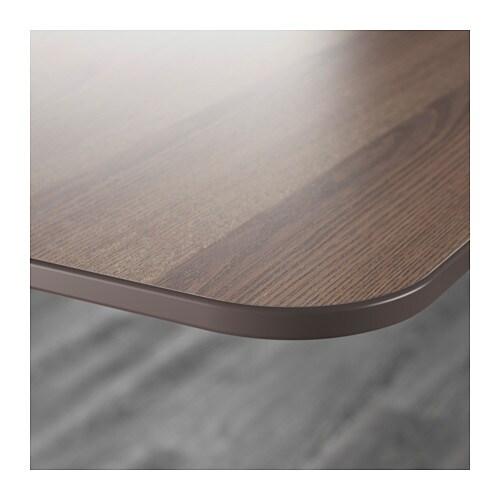 Tischplatte ikea grau  BEKANT Tischplatte - grau - IKEA