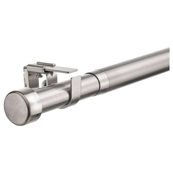 BEKRÄFTA Gardinenstangen-Set, vernickelt, 120-210 cm 28 mm