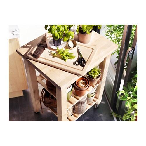 ikea holz birke abr umwagen k che servierwagen regalwaagen k chenwagen tisch neu traumfabrik xxl. Black Bedroom Furniture Sets. Home Design Ideas