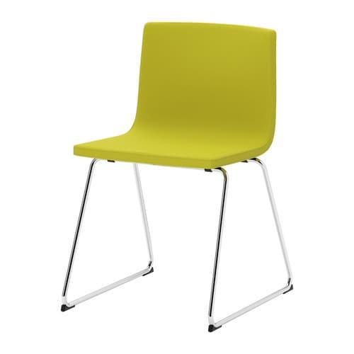 Ikea Essstuhl ikea bernhard stuhl verchromt kavat grüngelb 56 36 günstiger bei