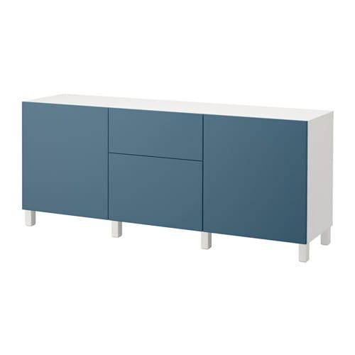 best aufbewahrung mit schubladen wei valviken dunkelblau schubladenschiene sanft. Black Bedroom Furniture Sets. Home Design Ideas