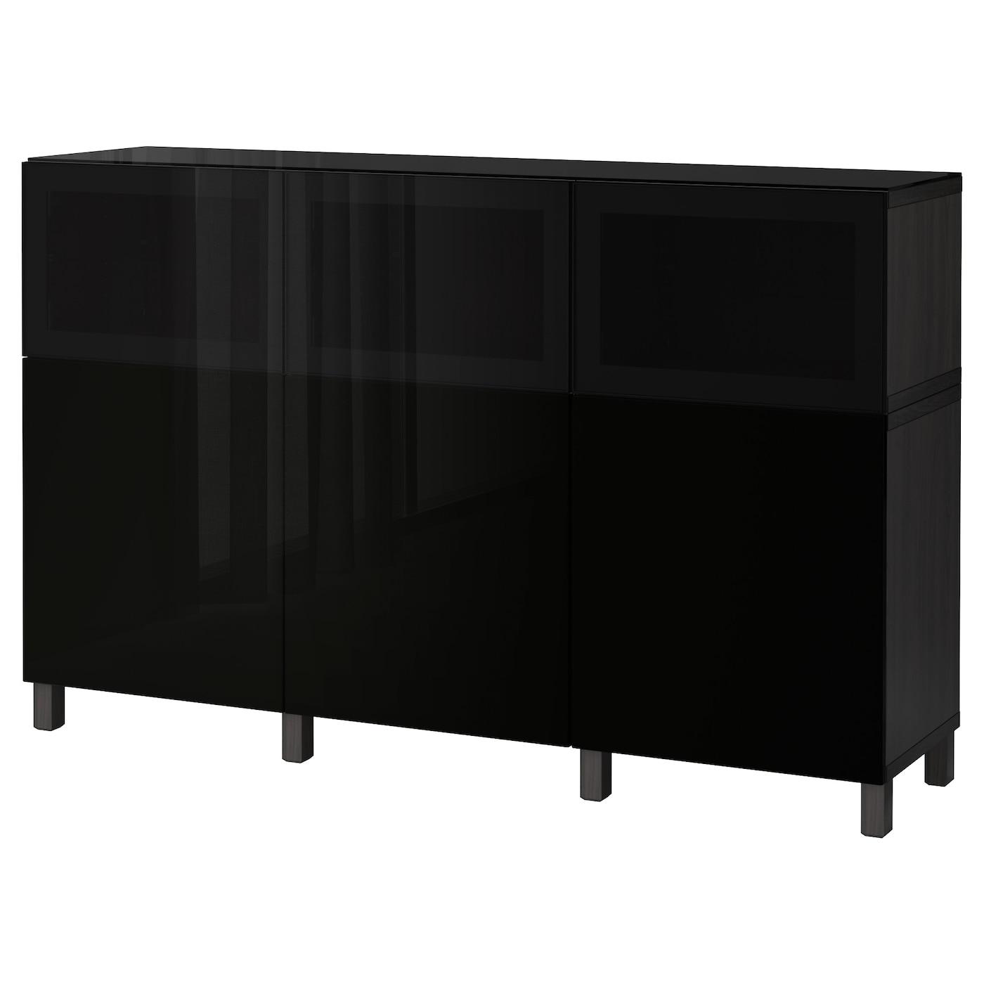 BESTÅ   Wohnzimmer > Schränke > Weitere Schränke   Schwarzbraun   Papier   IKEA