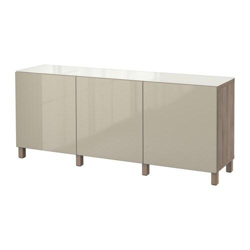 best aufbewahrung mit t ren grau las nussbaumnachb selsviken hochglanz beige ikea. Black Bedroom Furniture Sets. Home Design Ideas