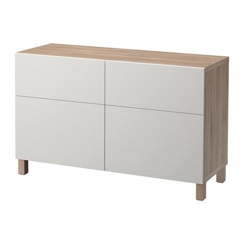 best aufbewkomb t ren schubladen grau las nussbaumnachb lappviken hellgrau. Black Bedroom Furniture Sets. Home Design Ideas