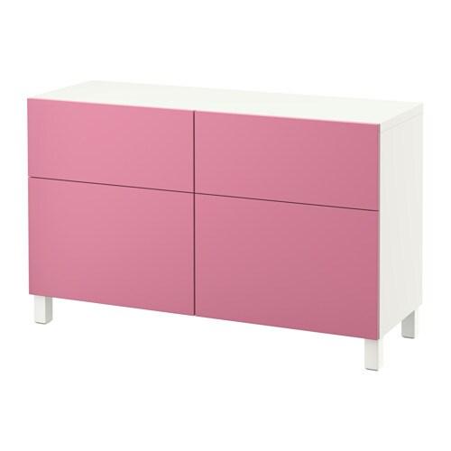 best aufbewkomb t ren schubladen wei lappviken rosa. Black Bedroom Furniture Sets. Home Design Ideas