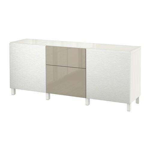 best aufbewkomb t ren schubladen laxviken wei selsviken hochglanz beige schubladenschiene. Black Bedroom Furniture Sets. Home Design Ideas