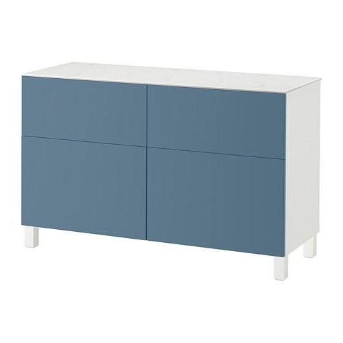 best aufbewkomb t ren schubladen wei valviken dunkelblau schubladenschiene drucksystem ikea. Black Bedroom Furniture Sets. Home Design Ideas