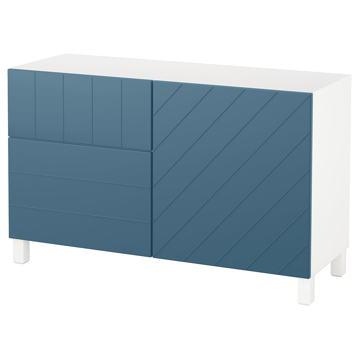 BESTÅ Aufbewkomb.+Türen/Schubladen - IKEA