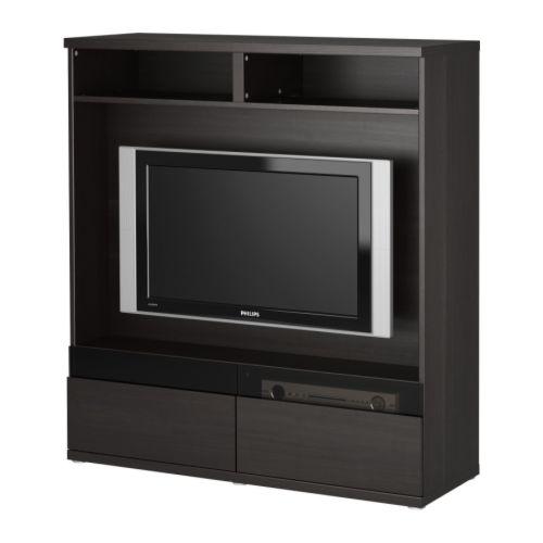 IKEA BESTÅ BOÅS TV-Möbel - schwarzbraun 11,14% günstiger bei ...