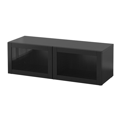 best regal mit glast ren sindvik schwarzbraun ikea. Black Bedroom Furniture Sets. Home Design Ideas