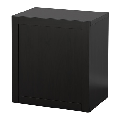 best regal mit t r hanviken schwarzbraun ikea. Black Bedroom Furniture Sets. Home Design Ideas