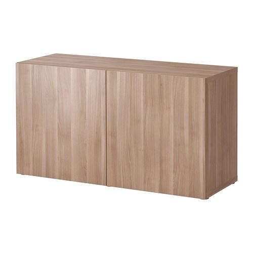 best regal mit t ren lappviken grau las nussbaumnachb ikea. Black Bedroom Furniture Sets. Home Design Ideas