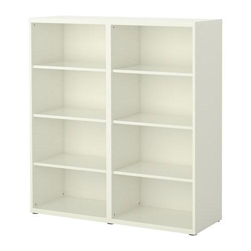 Ikea Besta Füße ikea bestå regal weiß 16 26 günstiger bei koettbilligar de