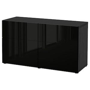 Farbe: Schwarzbraun/selsviken hochglanz schwarz.