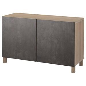 Farbe: Eicheneff wlas kallviken/dunkelgrau betonmuster.