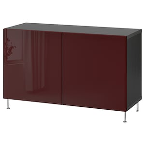 Farbe: Schwarzbraun selsviken/stallarp/hochglanz dunkel rotbraun.