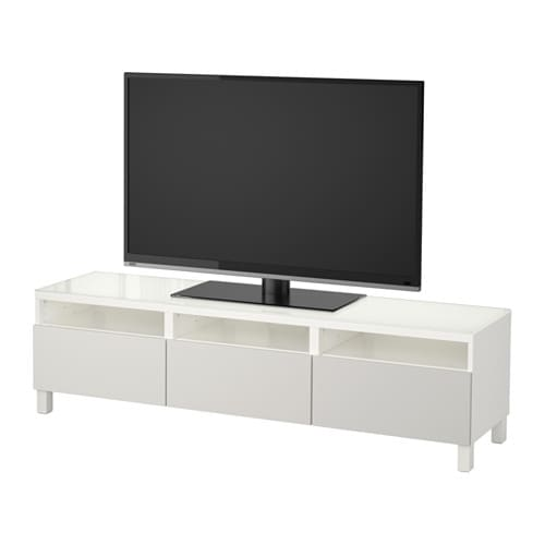 best tv bank mit schubladen wei lappviken hellgrau. Black Bedroom Furniture Sets. Home Design Ideas